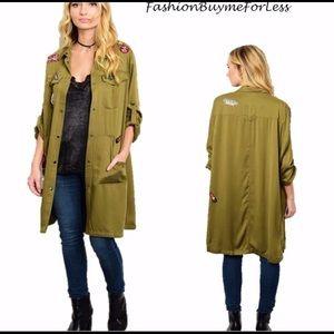 Jackets & Blazers - Zara inspired patch work jacket